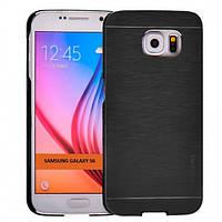 Чехол Motomo Line Series для Samsung Galaxy S6 черный, фото 1