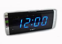Электронные сетевые часы VST-730-5    .dr
