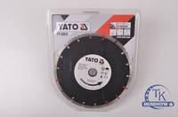 Круг отрезной алмазный  YATO SEGMENT 230*2,7*8*22,2 мм