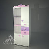 """Шкаф-стеллаж """"Золушка pink"""""""