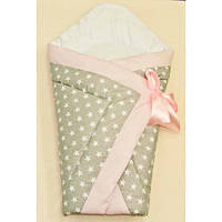 Оригинальный конверт-одеяло для новорожденной девочки