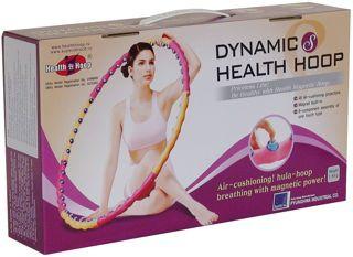 Обруч массажный  Dynamic Health Hoop S 1.6 кг / Хула-хуп