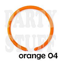 Шарики для моделирования 260 Gemar D4 Оранжевый, 100 шт