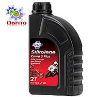 """Синтетическое эфирное моторное масло """"Silkolene Comp 2 Plus"""", 1л"""