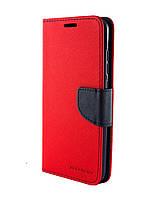 Чехол книжка для Xiaomi Redmi Note 3 Goospery Fancy красный