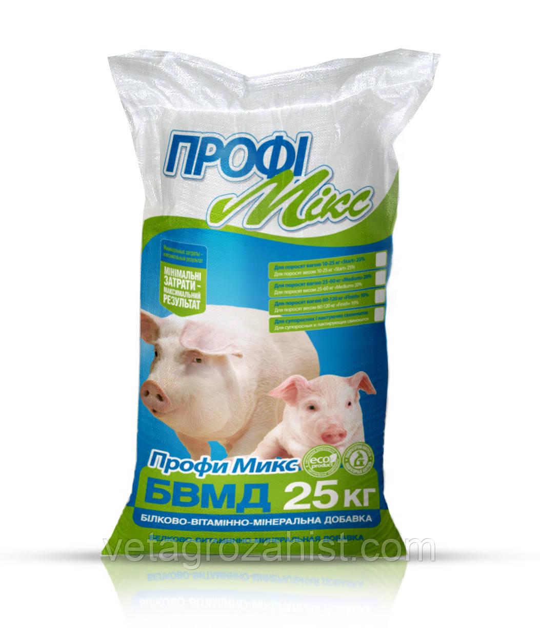 БВМД Профимикс 20% для супоросных и лактирующих свиноматок 25 кг кормовая добавка