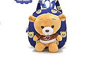 Детский рюкзак игрушка мишка.