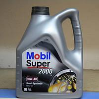 Масло моторное бензин. п/синтетика 10-40 4л Mobill