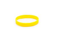 Силиконовые браслеты  оптом, упаковка 100шт. жёлтый