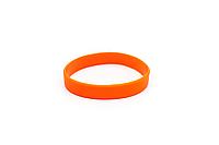 Силиконовые браслеты  оптом, упаковка 100шт. оранжевый