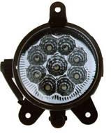 Фара дневного света в бампер, LED, LADA PRIORA, (компл. 2шт)(пр-во LAVITA)