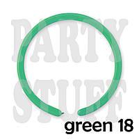 Шарики для моделирования Gemar D2 Зеленый кристалл  (150 см), 100 шт