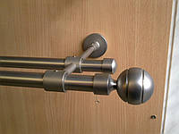 Труба / штанга гладкая для карниза металлического 19 мм 2 м