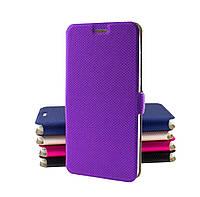 Чехол книжка для Lenovo Vibe C (A2020) Modern Style фиолетовый