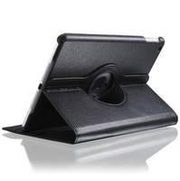 Черный кожаный чехол  360 для планшета iPad Air