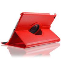 Красный кожаный чехол  360 для планшета iPad Air