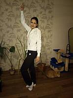 Кофта спортивная женская с замком без капюшона