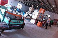 Экструзионная линия LSG-75/33 по производству лент капельного орошения с плоскими капельниками из ПЭ