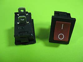 Переключатель красный ON-OFF (3A 250VAC) SPST 2P MRS-101 2 PIN
