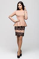 Женский костюм с юбкой офис