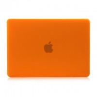 """Оранжевый пластиковый чехол Soft Touch для MacBook 12"""""""