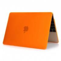 """Оранжевый пластиковый чехол Soft Touch для MacBook Air 11"""""""