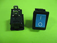 Переключатель синий ON-OFF (3A 250VAC) SPST 2P MRS-101 2 PIN
