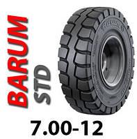 Шина цільнолита 7.00-12 цільнолита шина Barum, цельнолитая шина, гусматик