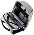 """Рюкзак для ноутбука 15,6"""" XD Design Bobby Anti-therft анти-вор, P705.542, фото 6"""