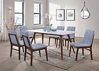 """Деревянный стол со стульями """"Леон"""",мебель для столовой,мебель для кухни"""