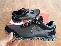 Кроссовки Nike Кожа