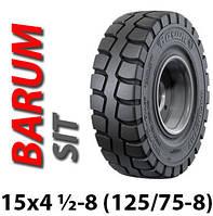 Шина цільнолита 15x4 1/2-8 (125/75-8) FIX цільнолита шина Barum, цельнолитая шина, гусматик