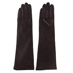 Перчатки женские (кожаные, на флисе, стильные, теплые)