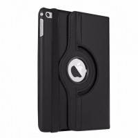 Кожаный чехол для планшета  для iPad mini 4  Rotating 360 Черный
