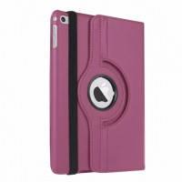 Кожаный чехол для планшета  для iPad mini 4  Rotating 360 Фиолетовый