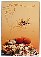 Папка Меню Panta Plast Pizza А4 прозрачная 0309-0046-99