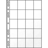 Файл для 20 монет А4 Panta Plast PVC 90мкм 0312-0005-00