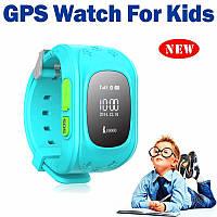 Умные детские часы Q50 c GPS трекером, многофункциональные часы браслет для ребенка
