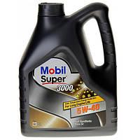 Масло моторное Mobil Super 3000 5W-40 4л
