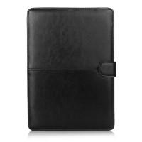 """Черный кожаный чехол Leisure для MacBook 12"""""""