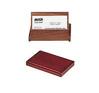 Деревянный контейнер для визиток BeStar 1316WDN