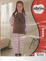Теплый детский флисовый костюмчик