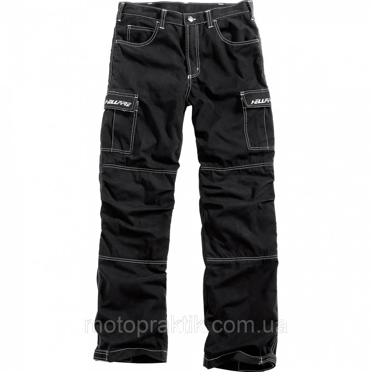Hellfire Aramid Cargo Pants Black, XL Мотоджинсы с защитой
