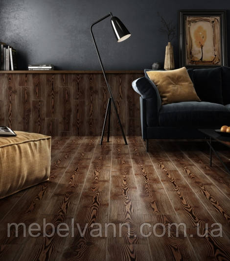 Плитка для пола Пантал Pantal 032 коричневый темный