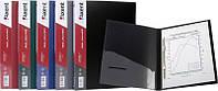 Папка-скоросшиватель А4 Axent клип А черная 1304-01-А