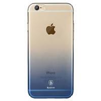 Ультратонкий чехол для iPhone 6/6s Baseus Gradient Case Blue