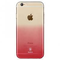 Ультратонкий чехол  для iPhone 6/6s Baseus Gradient Case Pink
