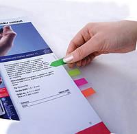 Закладки пластиковые Axent Neon асорти 2440-02-А