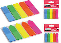 Закладки пластиковые Axent Neon асорти 2440-01-А