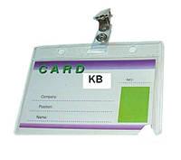 Беджи горизонтальные Agent CD-108 D с клипсой 3410053